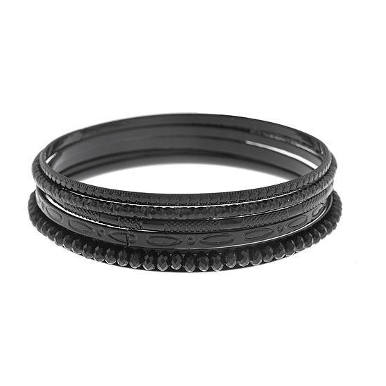 Mixit 5-pc. Black Bracelet Set