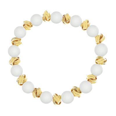 Monet Jewelry Pearl Knot Stretch Bracelet
