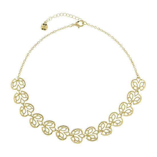 Monet Jewelry Summer Picnic 17 Inch Cable Collar Necklace