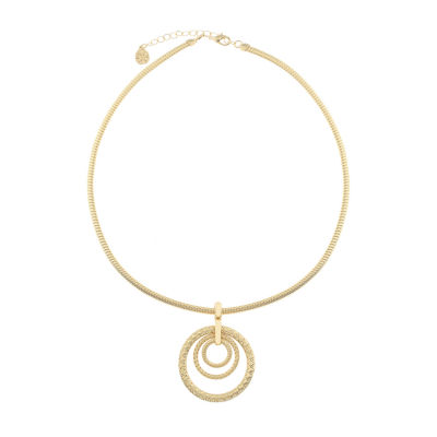 Monet Jewelry Shore Things Womens Pendant Necklace