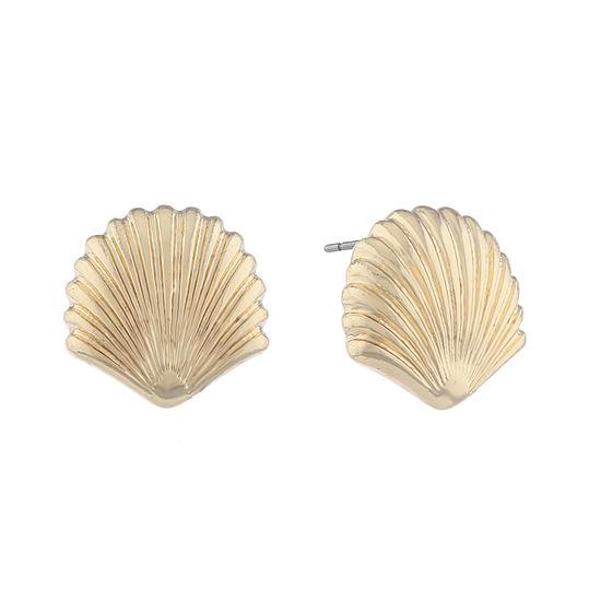 Monet Jewelry Shore Things 15mm Stud Earrings