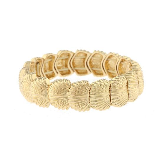 Monet Jewelry Shore Things Stretch Bracelet
