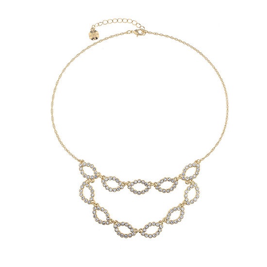 Monet Jewelry Urban Lights Womens Collar Necklace