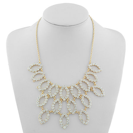 Monet Jewelry Urban Lights 18 Inch Rope Statement Necklace, One Size , White