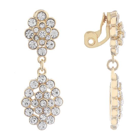 Monet Jewelry Urban Lights Clip On Earrings