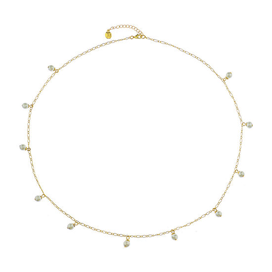 Monet Jewelry Spring Pearl 30 Inch Cable Strand Necklace