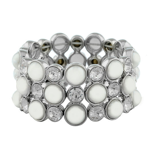 Monet Jewelry Spring Pearl Stretch Bracelet