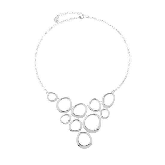 Liz Claiborne Metals 17 Inch Cable Statement Necklace