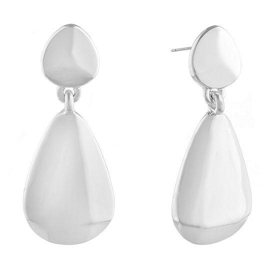 Liz Claiborne Metals 1 Pair Drop Earrings