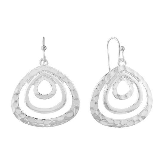 Liz Claiborne Metals Drop Earrings