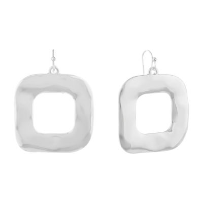 Liz Claiborne Metals Drop Earrings
