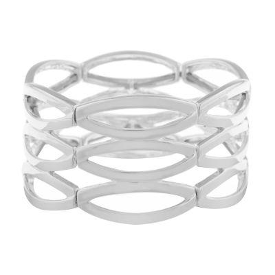 Liz Claiborne Metals Stretch Bracelet