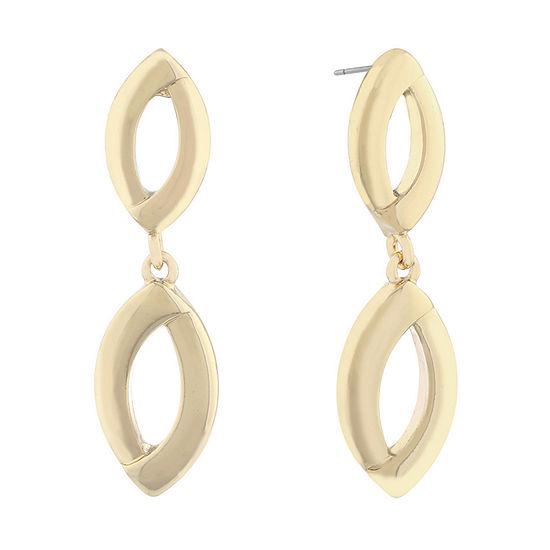Liz Claiborne Suneshine State Drop Earrings