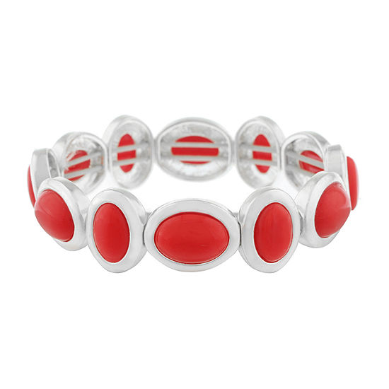 Liz Claiborne Red Stretch Bracelet