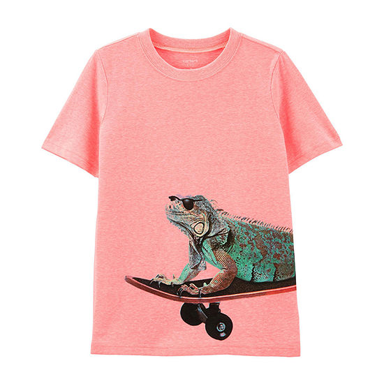 Carter's Boys Round Neck Short Sleeve Graphic T-Shirt - Preschool / Big Kid