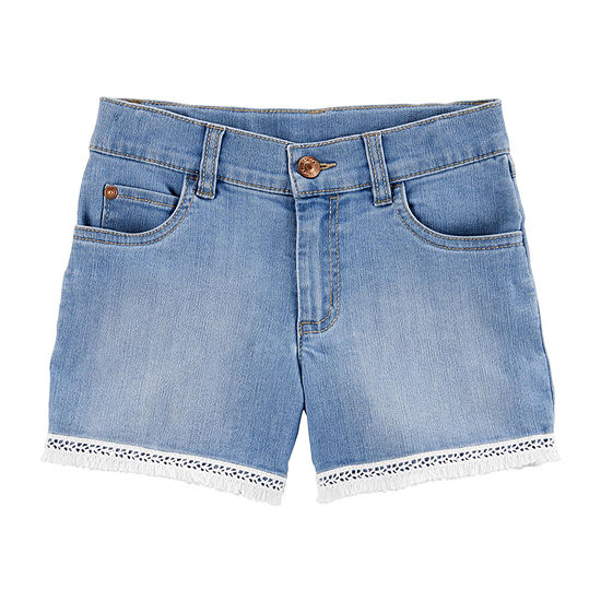 Carter's Girls Denim Short Preschool / Big Kid