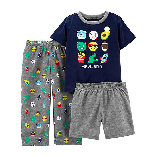 Carter's 3-pc. Pajama Set Toddler Boys