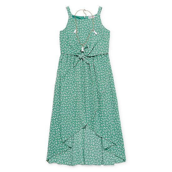 Knit Works Sleeveless Floral Maxi Dress - Big Kid Girls