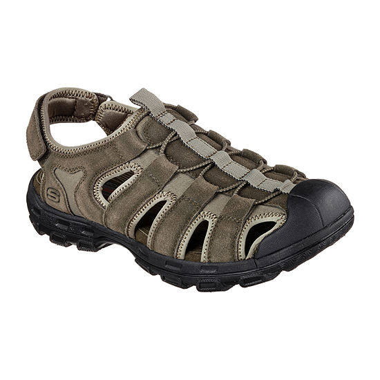 Skechers Mens Garver Strap Sandals