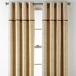 JCPenney Home Darwin Light-Filtering Grommet-Top Curtain Panel