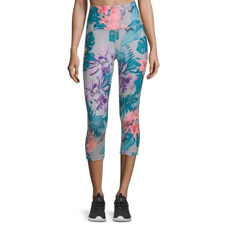 Xersion Move Womens High Rise Slim Legging, Large , Multiple Colors