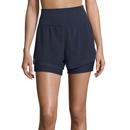 Xersion Train Womens Workout Shorts, Small , Purple