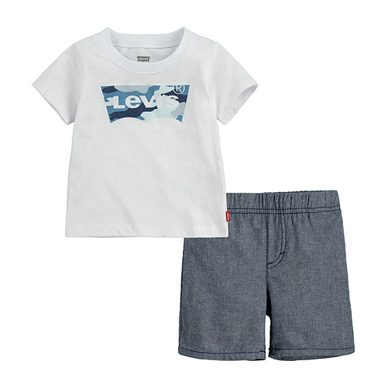 Levi's Baby Boys 2-pc. Short Set