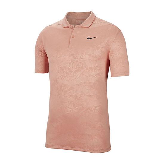 Nike Dri-Fit Essential Camo Mens Short Sleeve Polo Shirt