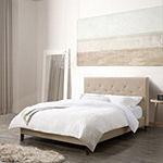 Nova Ridge Upholstered Tufted Platform Bed