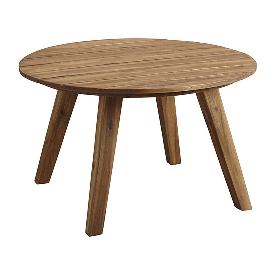 "30"" Acacia Round Coffee Table"