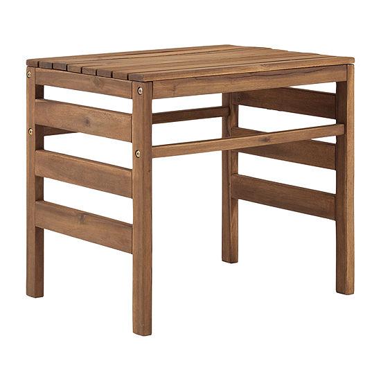 Walker Edison Patio Side Table