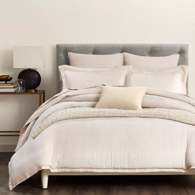 Fieldcrest Luxury Herringbone 3-pc. Duvet Cover Set