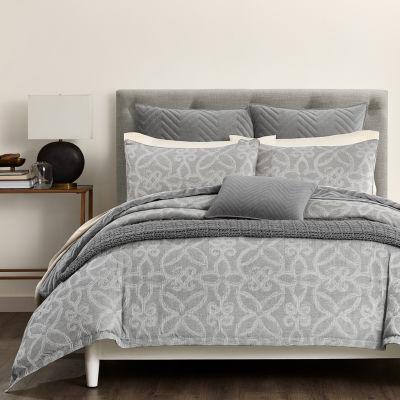 Fieldcrest Luxury Scroll Woven 3-pc. Damask + Scroll Comforter Set