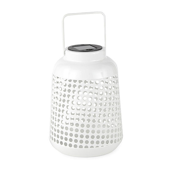 Outdoor Oasis Punched Metal Outdoor Lantern Collection