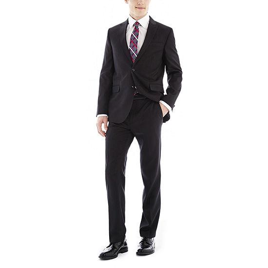 f94c49867c8 JF J. Ferrar Black Nailhead Slim-Fit Suit Separates - JCPenney