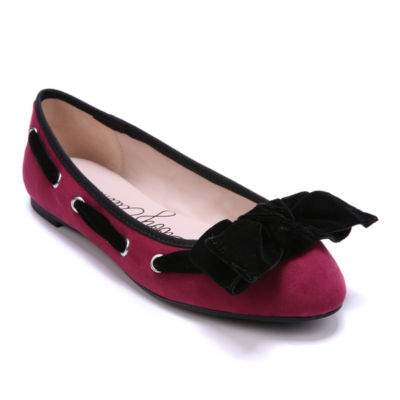 Libby Edelman Womens Casey Ballet Flats Pull-on Round Toe