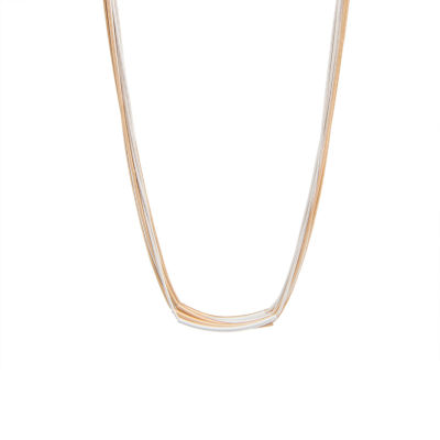 Bold Elements 17 Inch Snake Chain Necklace