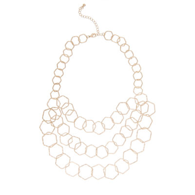 Bold Elements Womens Link Necklace