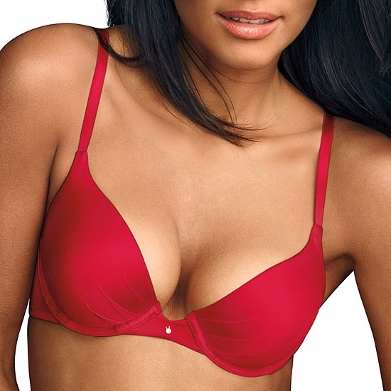 Maidenform Comfort Devotion Super Soft Underwire Demi Plunge Push Up Bra-09442j