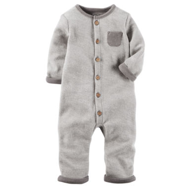 Carter's Little Baby Basics Long Sleeve Jumpsuit - Baby