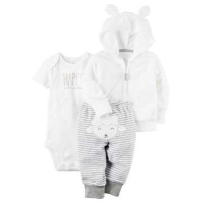 Carter's Little Baby Basics 3-pc. Layette Set-Baby Unisex