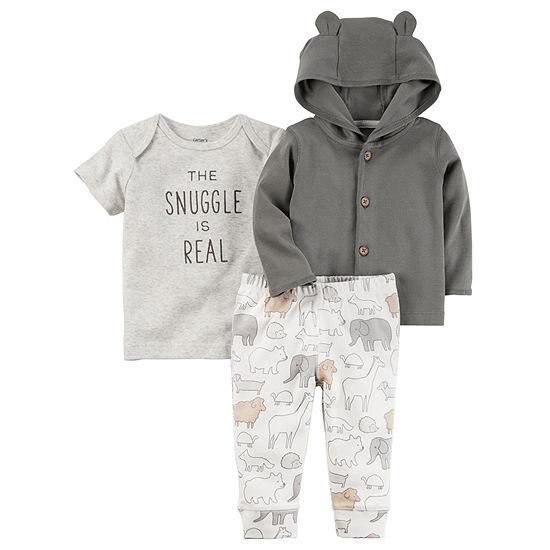 Carter's Baby Unisex 3-pc. Baby Clothing Set