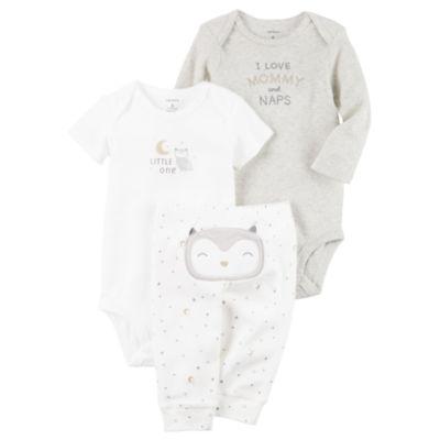 Carter's Little Baby Basics Neutral Turn-Me-Around Set