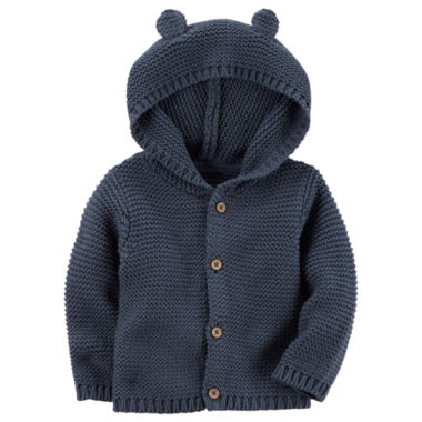 Carter's Long Sleeve Cardigan - Baby Boys