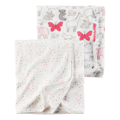 Carter's 2-pc. Hearts Blanket - Girls