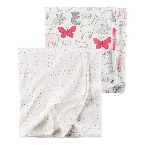 Carter's 2-pc. Hearts Blanket - Girls