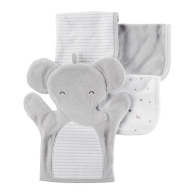 Carter's 4-pc. Hooded Wash Cloths