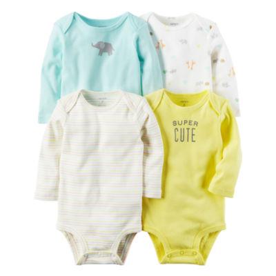 Carter's Little Baby Basics 4-pk. Bodysuits - Baby