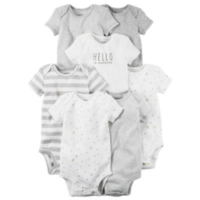 Carter's Little Baby Basics 7-pk. Bodysuits - Baby