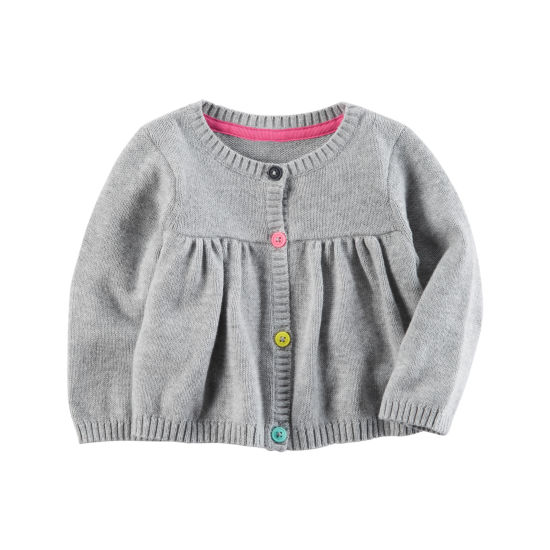 Carter's Long Sleeve Cardigan - Baby Girls
